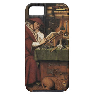 A book.  A cat.  Sanctity.  What more do you need? iPhone SE/5/5s Case