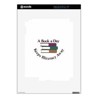 A Book a Day iPad 2 Decals