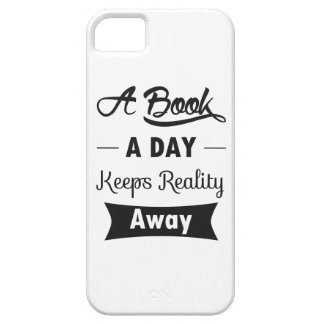 A Book A Day Keeps Reality Away Case For iPhone 5/5S
