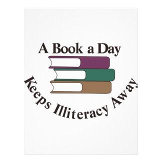 A Book a Day Letterhead