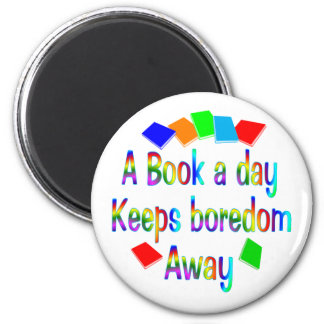 A Book A Day Magnet
