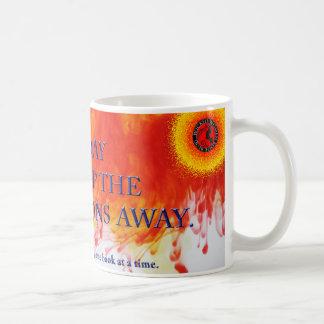 """A book a day may keep the morons away"" Coffee Mug"