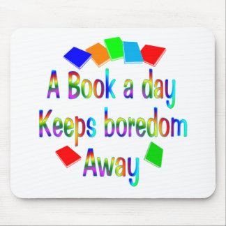 A Book A Day Mouse Pad
