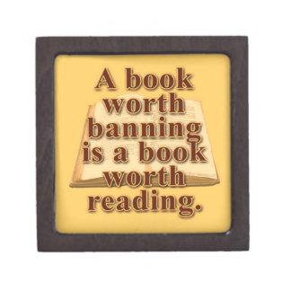 "A Book Worth Banning 2"" Premium Gift/Trinket Box"