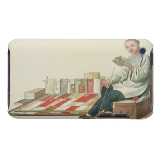 A Bookseller, plate 6 from 'The Costume of China', iPod Touch Case-Mate Case