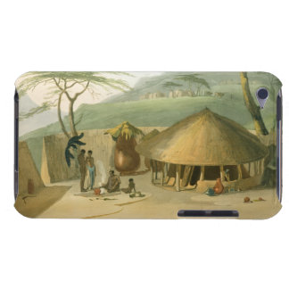 A Boosh-Wannah Hut, plate 7 from 'African Scenery Case-Mate iPod Touch Case