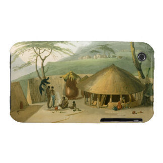 A Boosh-Wannah Hut, plate 7 from 'African Scenery iPhone 3 Case