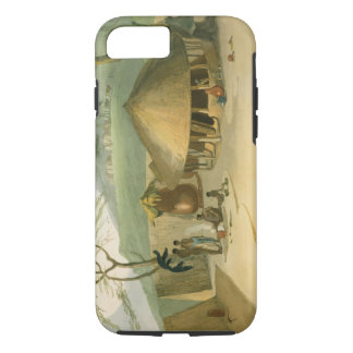 A Boosh-Wannah Hut, plate 7 from 'African Scenery iPhone 7 Case