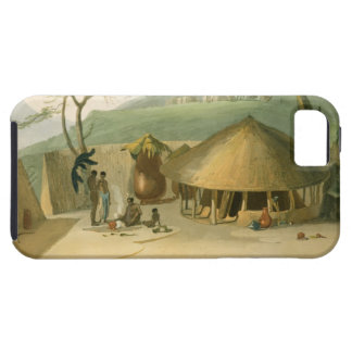 A Boosh-Wannah Hut, plate 7 from 'African Scenery iPhone SE/5/5s Case