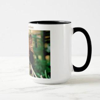 A Border Collie's Eyes Mug