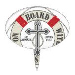 A bordo con Jesús Figura Para Tarta