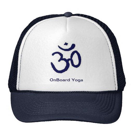 A bordo yoga gorro de camionero