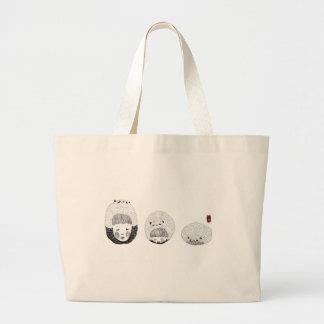 A Bored Panda Large Tote Bag