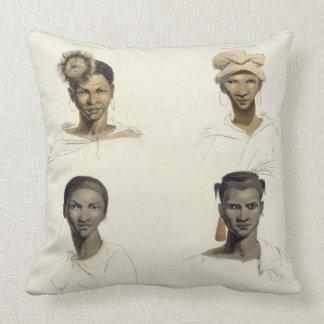A Bosjeman, a Bosjeswoman, a Booshuana Woman, a Bo Pillows