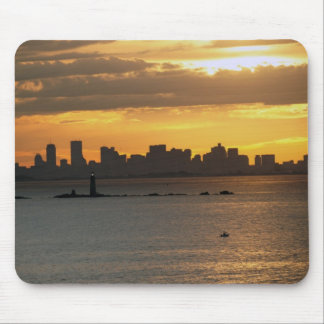 A Boston Sunset Mouse Pad