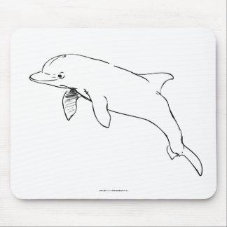 a bottlenose dolphin mousePad