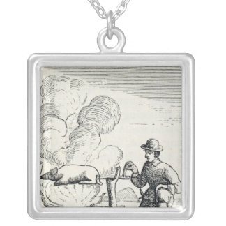 A Boucan Silver Plated Necklace