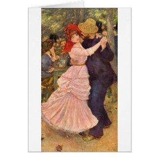 À Bougival (1883) de Pierre-Auguste Renoir - de Tarjeta Pequeña