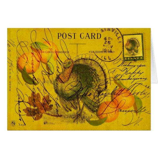 A Bountiful Thanksgiving Card