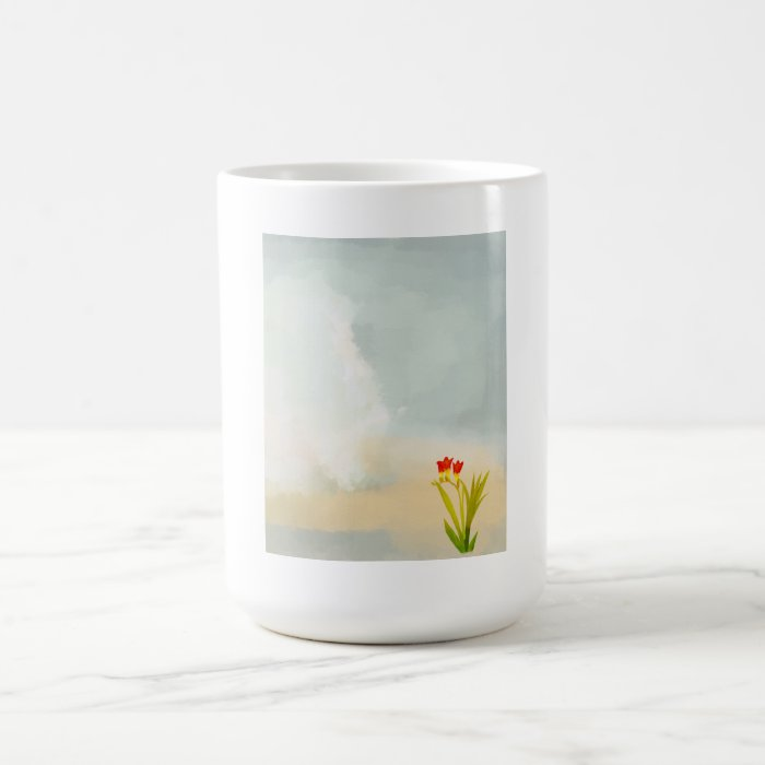a bouquet of nice red flowers Mug