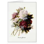 A Bouquet Of Peonies Greeting Card