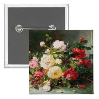 A Bouquet of Roses Pinback Button