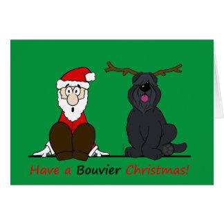 A Bouvier Christmas Card
