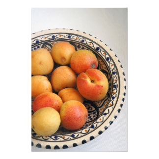 A bowl of Mediterranean Apricots 2 Photo Print