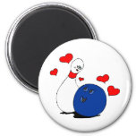A bowlers love koelkast magneetje