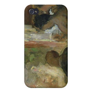 A Box at the Theatre, c.1865-70 iPhone 4 Cover