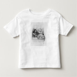A box at the Theatre Italien, engraved by Frey Toddler T-shirt
