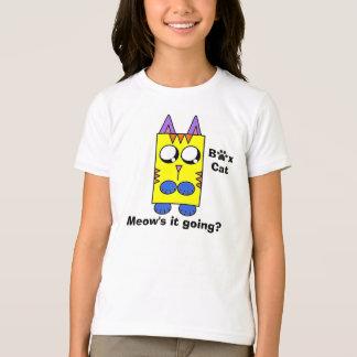 A Box Cat brand - Meow's it going? T-Shirt