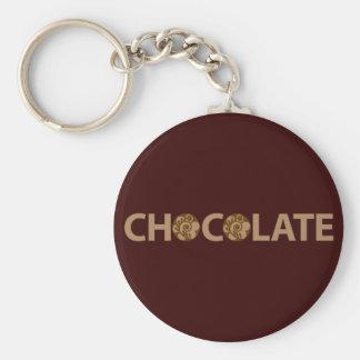 A Box of Chocolates Basic Round Button Keychain