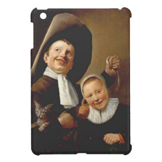 A Boy & a Girl with a Cat,an Eel by Judith Leyster iPad Mini Cases