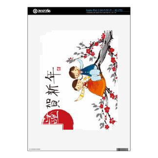 A Boy and a Girl iPad 3 Skin