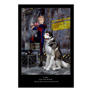 A Boy and His D.O.G. Poster