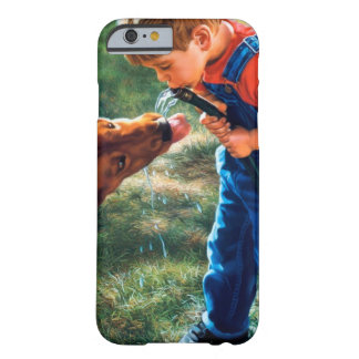 A Boy and his Dog Water Hose Thirst Colorful Barely There iPhone 6 Case