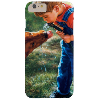 A Boy and his Dog Water Hose Thirst Colorful Barely There iPhone 6 Plus Case