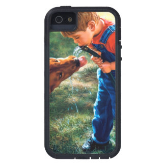 A Boy and his Dog Water Hose Thirst Colorful Case For iPhone SE/5/5s