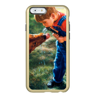 A Boy and his Dog Water Hose Thirst Colorful Incipio Feather® Shine iPhone 6 Case