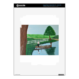 A boy and his grandpa skin for iPad 3