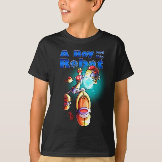 A Boy and His Robot T-Shirt