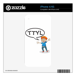 a boy skin for the iPhone 4S
