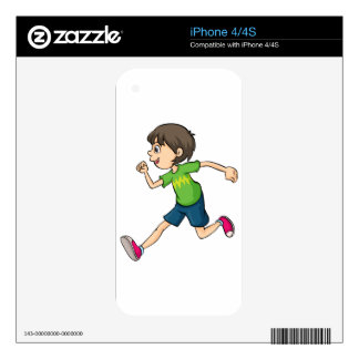 A boy skin for the iPhone 4