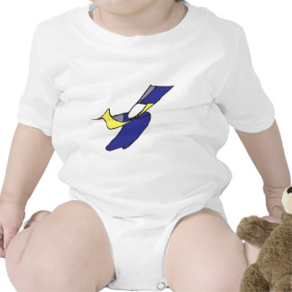 A Boy with a Bird Rompers