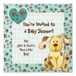 A Boy's Best Friend Baby Shower Invitation