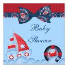 A Boys Sea Life Baby Shower Card