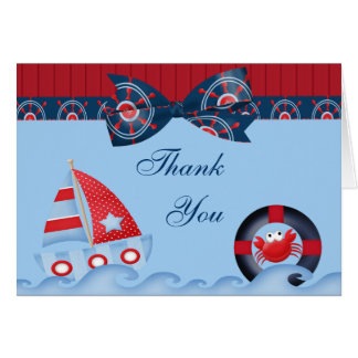 A Boys Sea Life Baby Shower Greeting Card