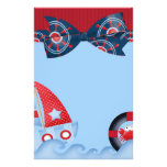 A Boys Sea Life Baby Shower Stationery Paper
