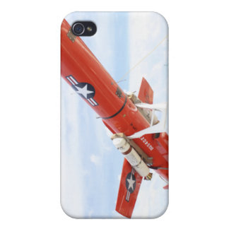 A BQM-74E Chukar drone ready for launch Cover For iPhone 4